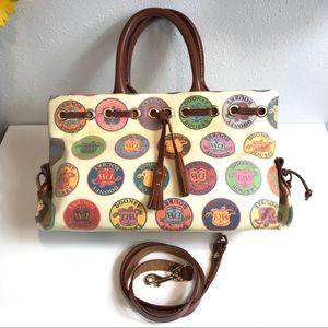 Dooney &  Bourke Vintage Crest Medallion Tote Bag
